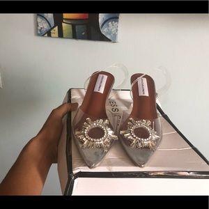 Shoes - Transparent sling back Jessica Buurman heels